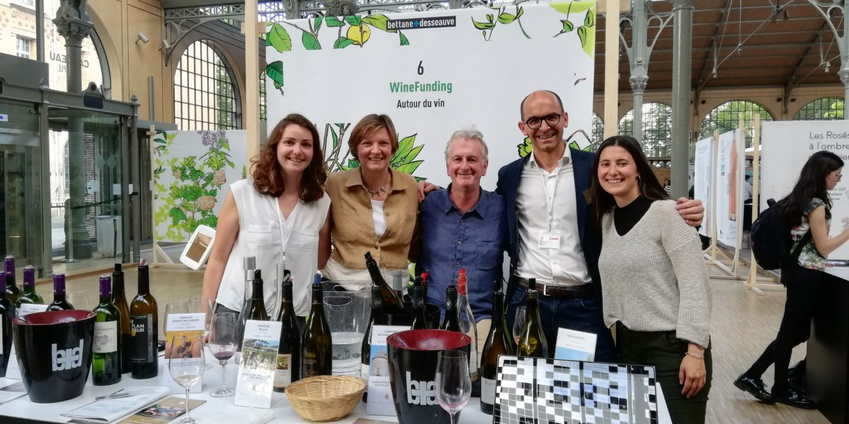 WineFunding au grand tasting de printemps